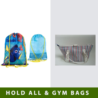 Hold all & gym bags