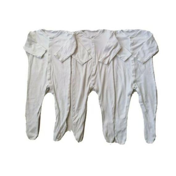 Babygrow white bundle 9-12m