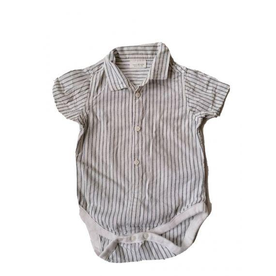 Striped short sleeve 3-6m