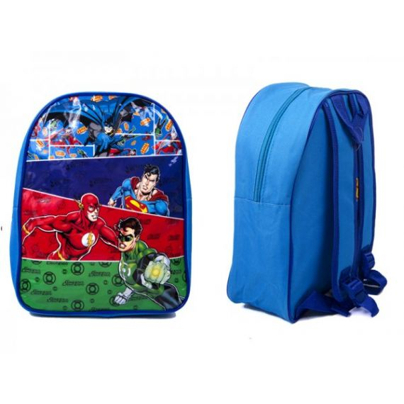 KIDS BACKPACK WITH JUSTICE LEAGUE