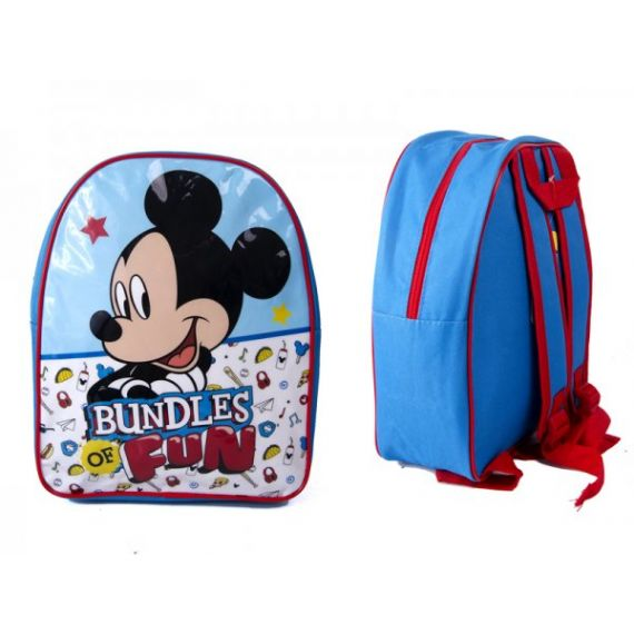 KIDS BACKPACK WITH MICKEY MOUSE