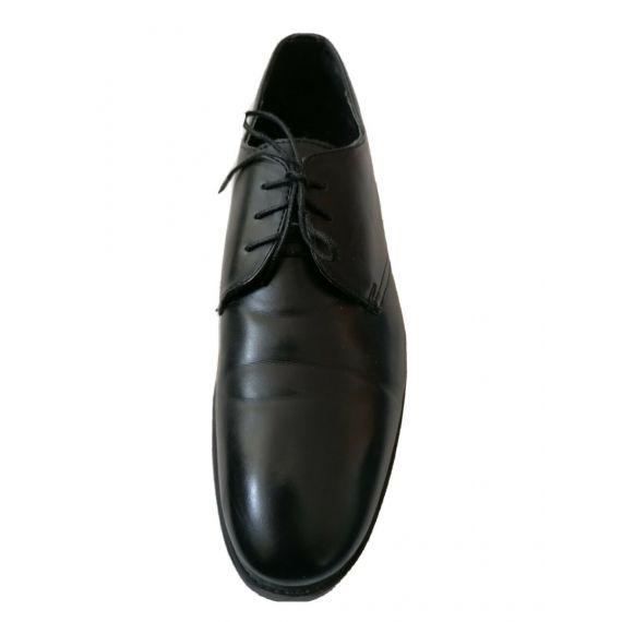 Black lace up shoe UK 11 EU 45