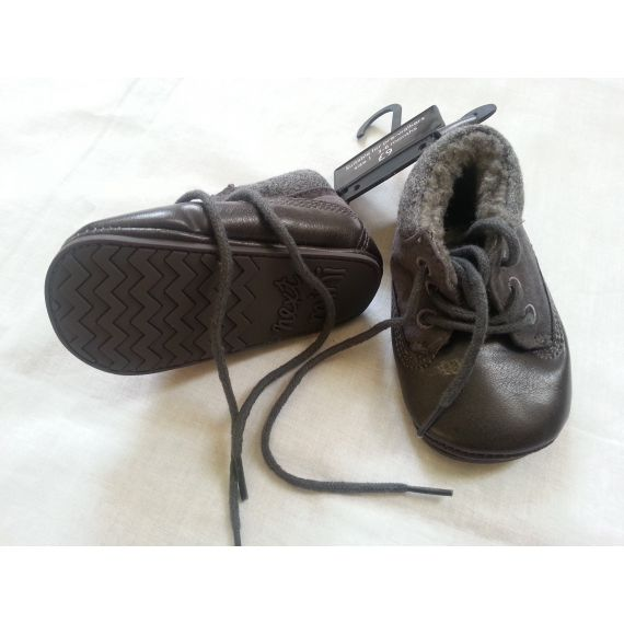 Baby boy grey shoe size 1(3-6 months)