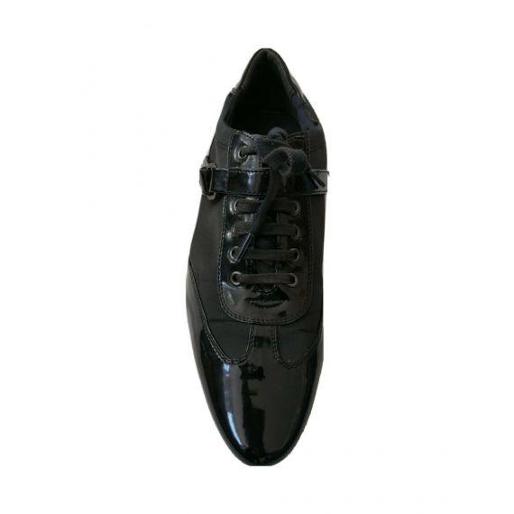 Zara patent casual shoe UK 9