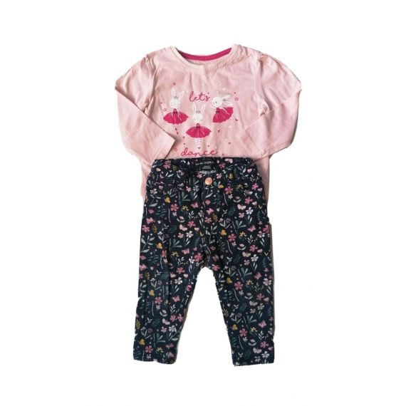 Baby girl outfit, 9-12m