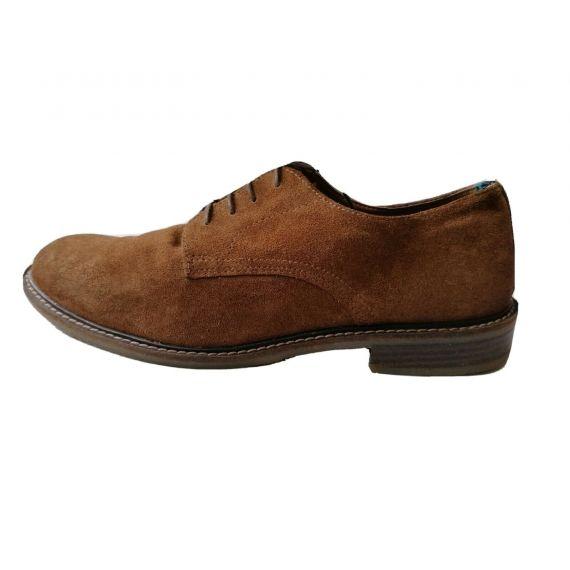 Brown suede shoe UK 8 EU 42