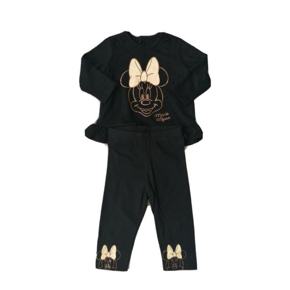 Black minnie outfit 9-12m