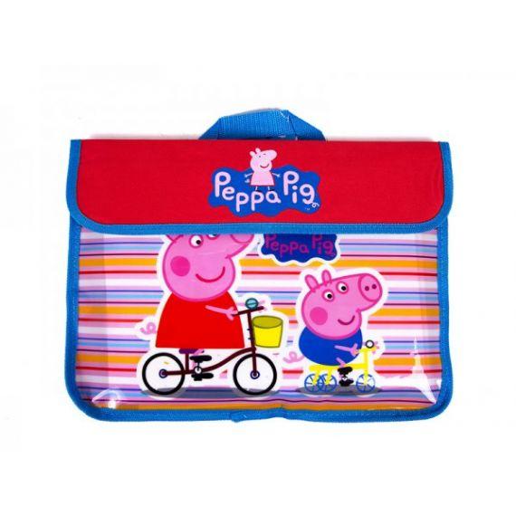 PEPPA PIG PU DOCUMENT BAG