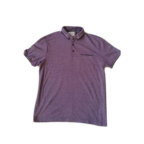 Purple polo t-shirt Large