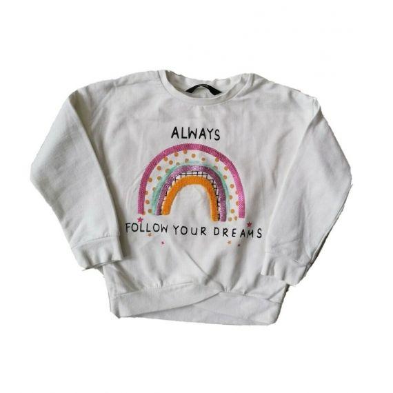 Rainbow Sweatshirt 2-3 years