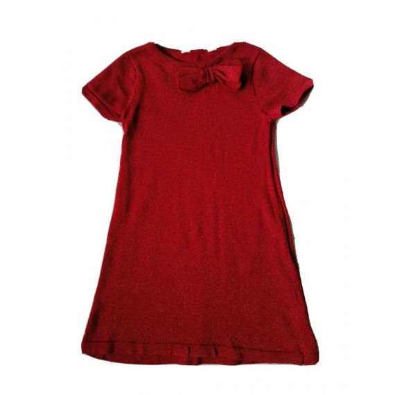 H&M red dress 4-6 years