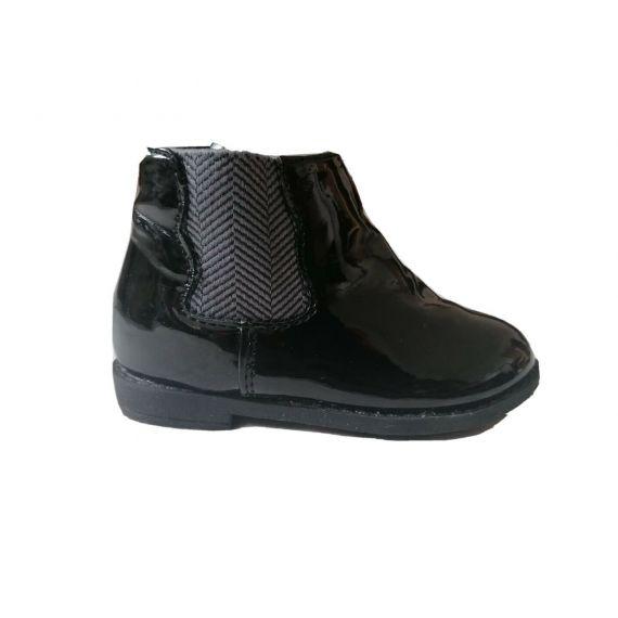 Patent shoe UK 19-20(9-12m)