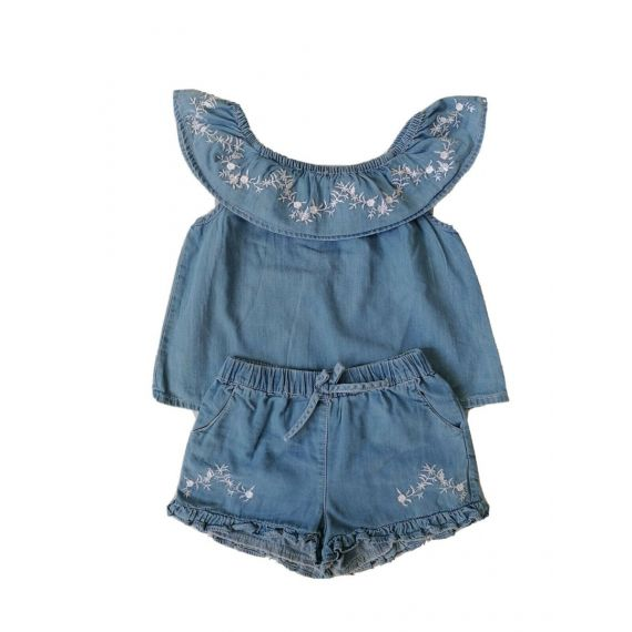 Girls  Denim outfit 3-4 years