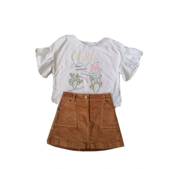 Girls matched outfit 3-4 years