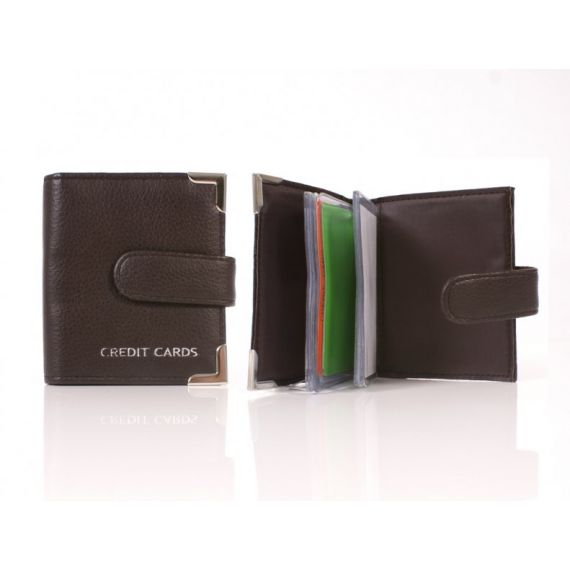 Bank card and card holder