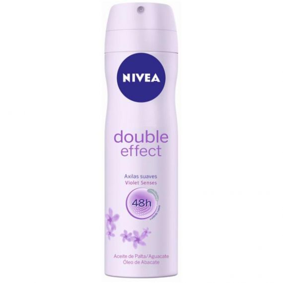 NIVEA FEMALE DOUBLE EFFECT 250ML