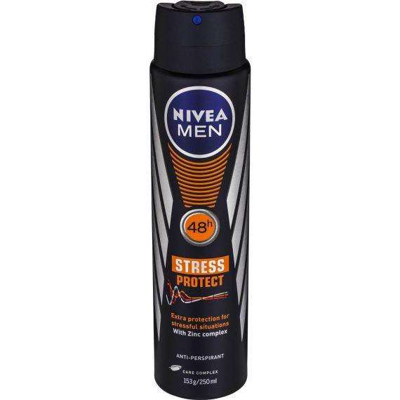 Nivea Men Stress Protect 48h Anti-Perspirant 250ml