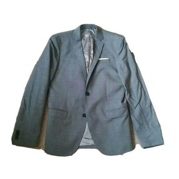 Men grey suit jacket 36R