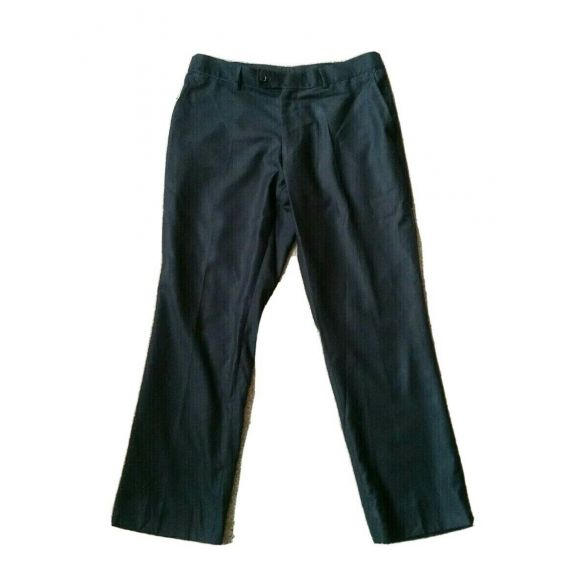 Men black formal trouser W36 L30