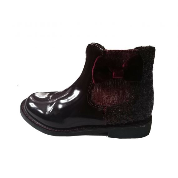Patent ankle boot UK 11 EU 29