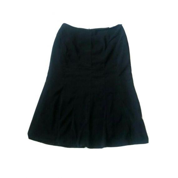 Ladies black skirt UK 20