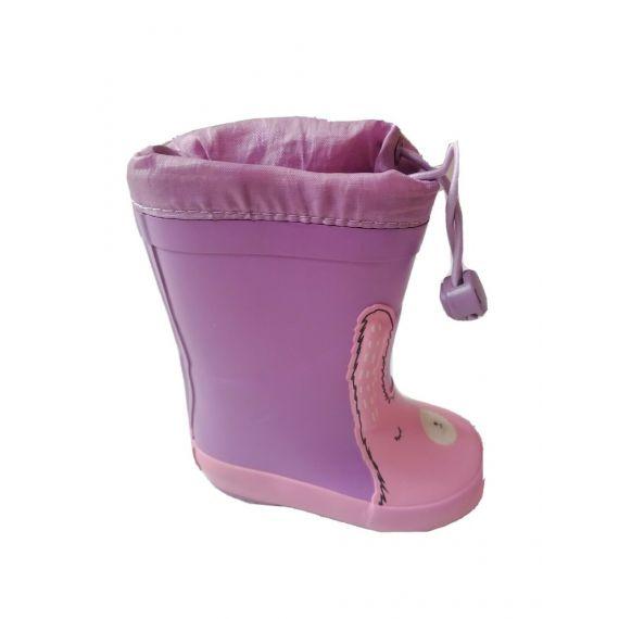 Purple wellies UK 4 EU 20