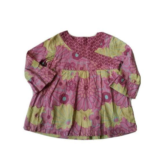 Girls purple mix blouse top, 5-6 years