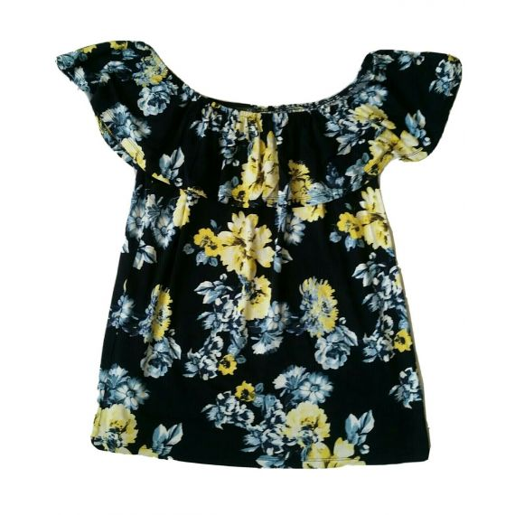 Ladies and women colorful top blouse UK 14