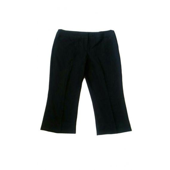 Ladies black cropped trouser UK 22R