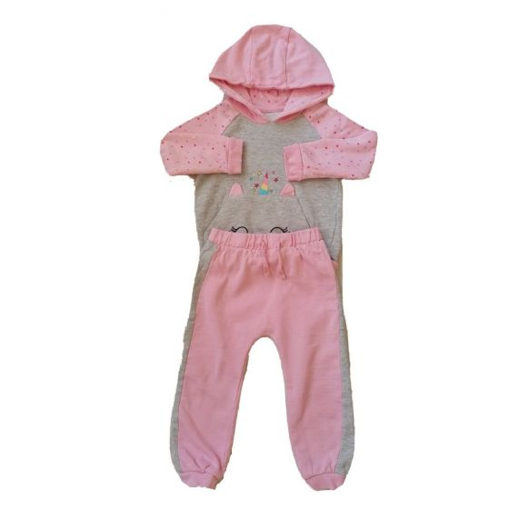 Tracksuit pink mix 2-3 years