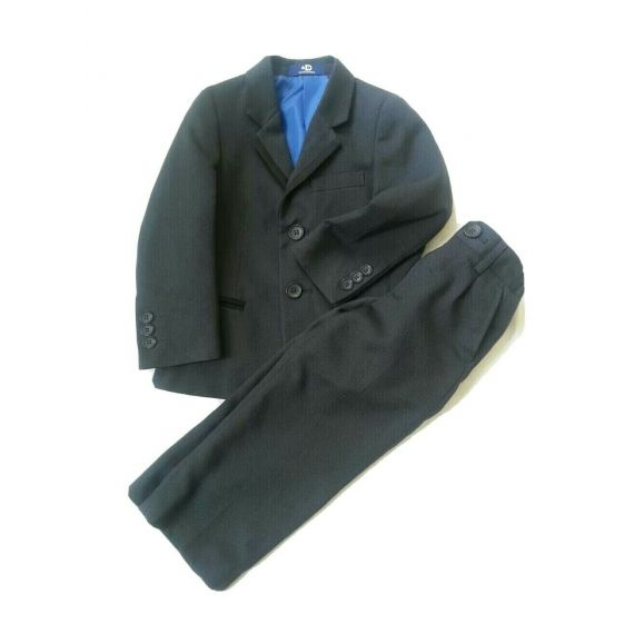 Boys navy blue suit 2 years