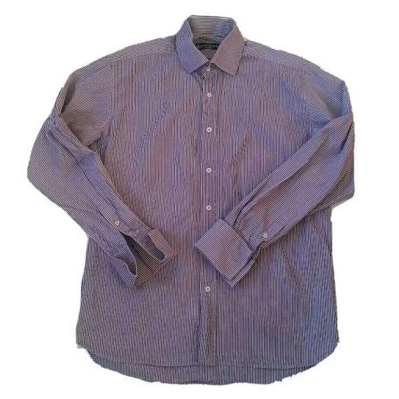 "Men formal long sleeve shirt size, 15.5""(40cm)"