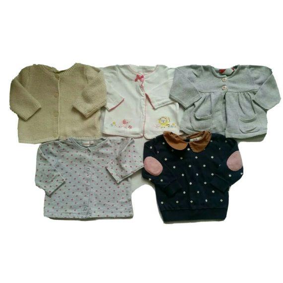 Baby girl bolero bundle 3-6m