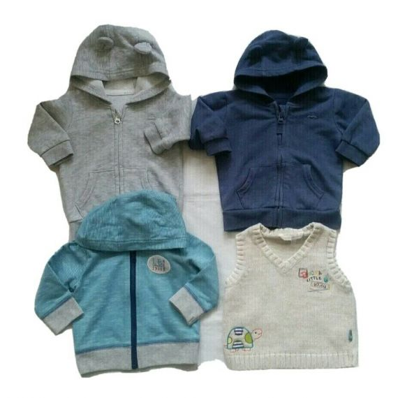 Baby boy jumper bundle 3-6m