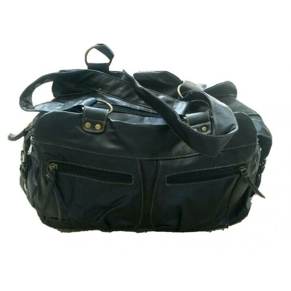 Ladies And Women Black handbag. Measure: L16 x H10 x D4.5 inchs