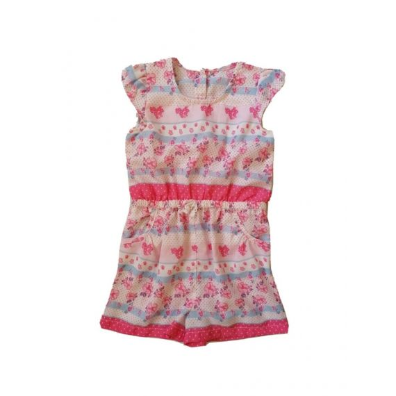 Pink mix playsuit 2-3 years