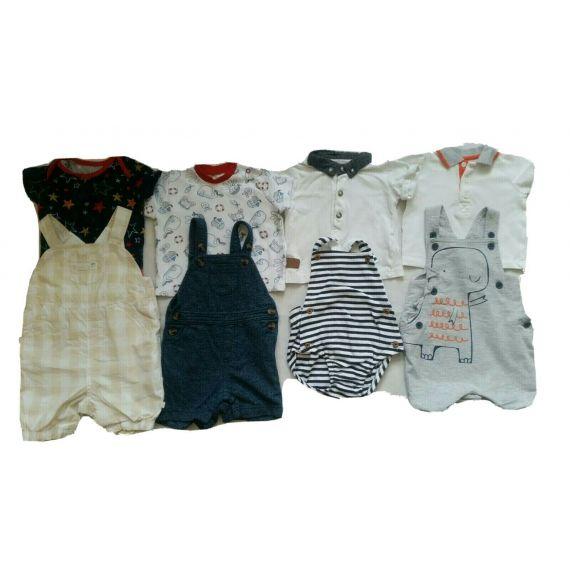 Baby boy clothe bundle 3-6m