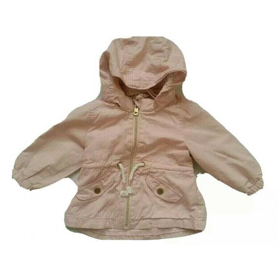 Baby girl pink raincoat 4-6 moths