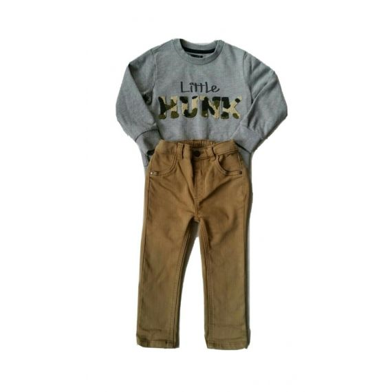 Jumper and chinos 18-24m