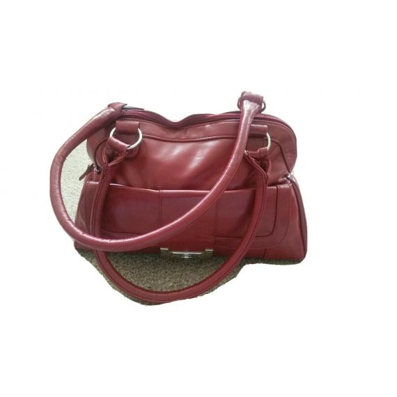 Ladies and red bag