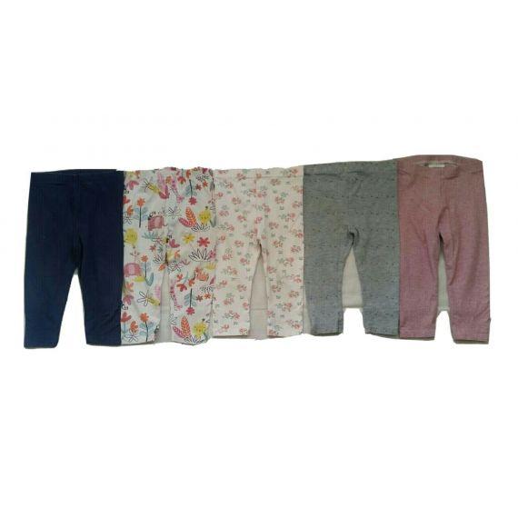 Girls leggings bundle 9-12m