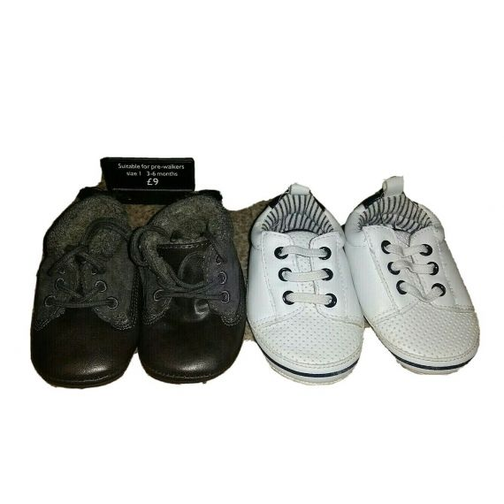 Baby boy shoe bundle 3-6 months