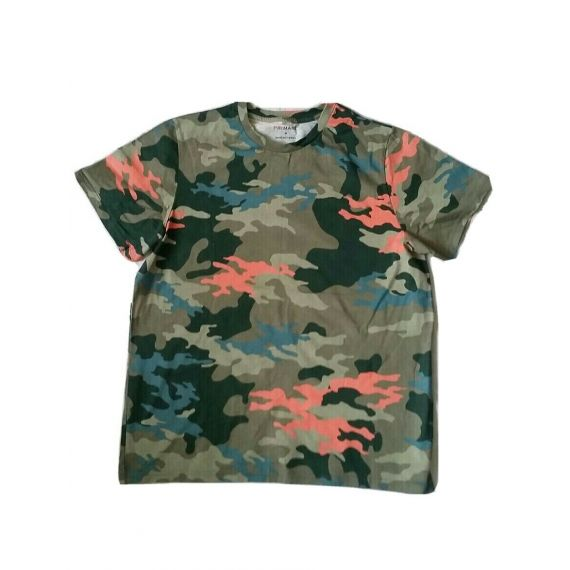 Men camo t-shirt, medium
