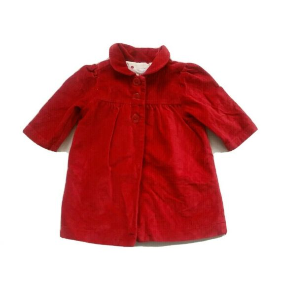 Baby girl red jacket 9 months