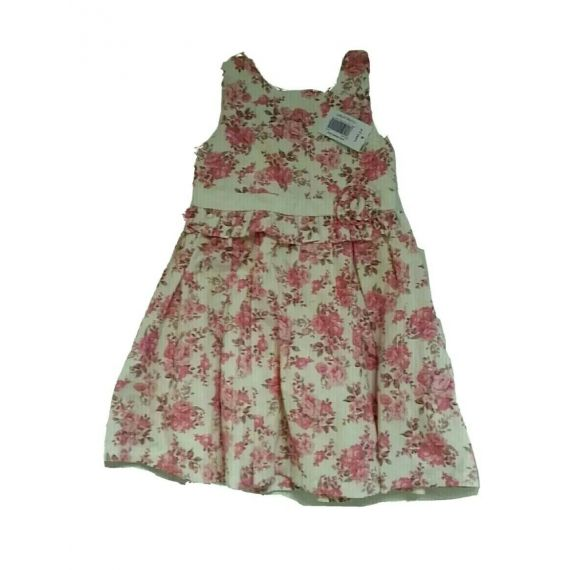 girl pink mix dress 2-3 years