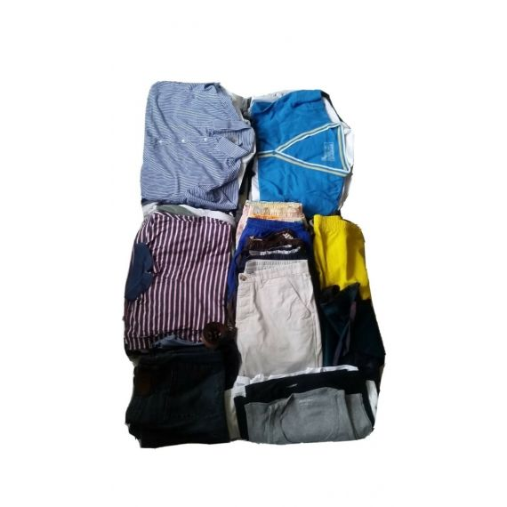 Men assorted used wholesale clothe