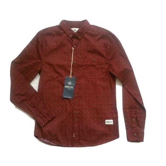Men Nanny state long sleeve shirt, size small