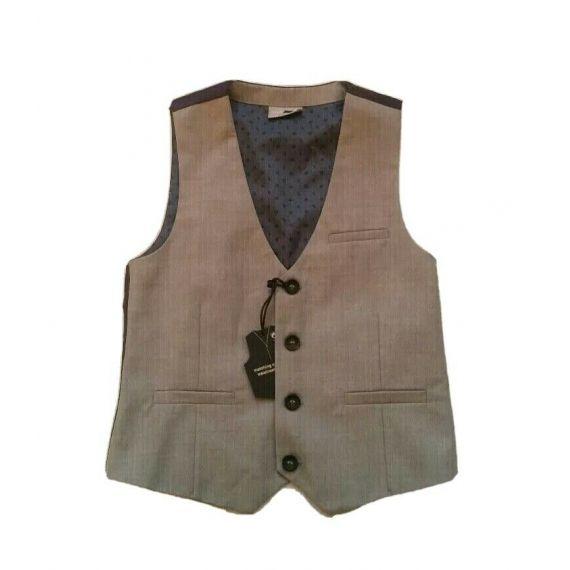 Boys next grey waistcoat 6 years