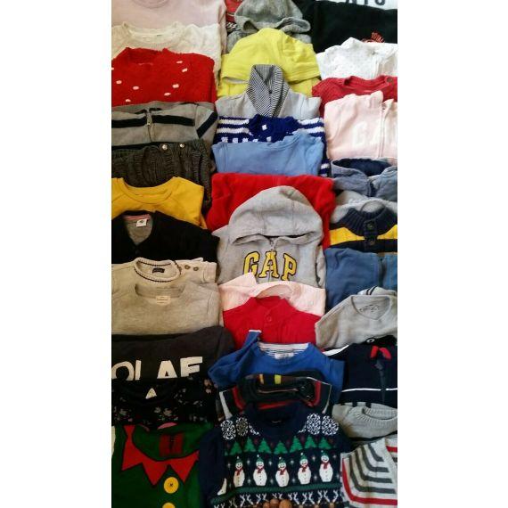 Kids jumper used clothe bundle wholesale mini bale