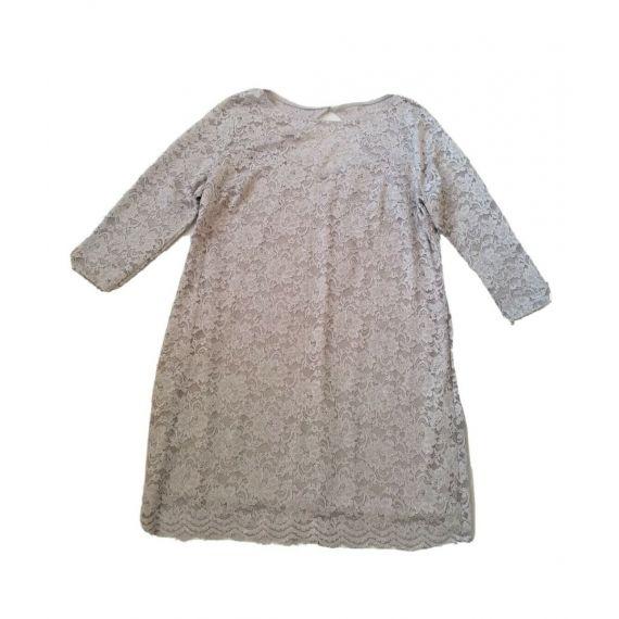 Lace grey dress UK 22